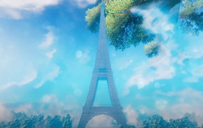 Valheim Player Re-Creates The Eiffel Tower In-Game