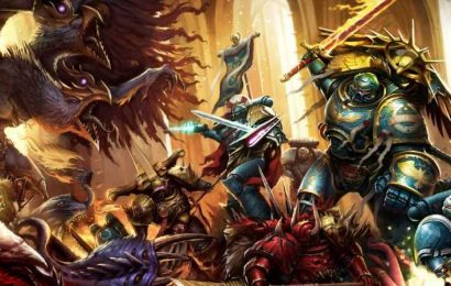 Warhammer 40K And Lord Of The Rings Coming To Magic: The Gathering