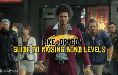 Yakuza: Like A Dragon Guide To Raising Bond Levels