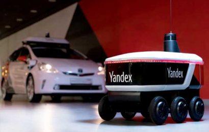 How Yandex plans to expand its autonomous robot delivery service