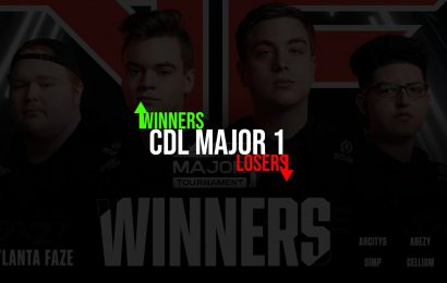 CoD: Winners and Losers of CDL 2021 Major 1