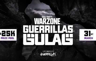 CoD: How to Watch $25K Guerrillas Gulag Warzone Tournament