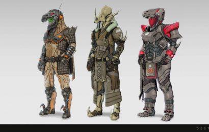 It's Monsters Versus Dinosaurs In Destiny 2's New Costume Contest