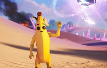 Despite Being Hadoukened Into A Smoothie By Ryu, Fortnite's Peely Is Not Gone Forever