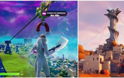 Fortnite: How To Ride Different Ziplines