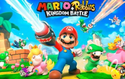 Mario + Rabbids Kingdom Battle, A Game Where Luigi Has A Sniper, At Its Lowest Price Ever