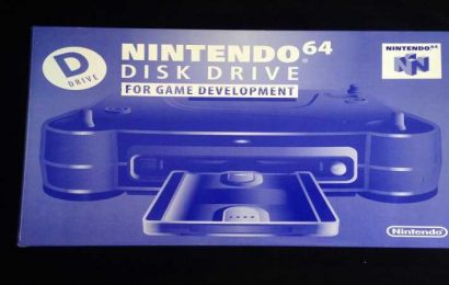 See What It's Like To Unbox A Nintendo 64 Dev Kit