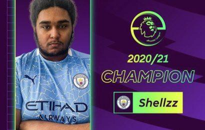 Manchester City Shellzz wins club's first-ever ePremier League title