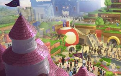 You can experience most of Super Nintendo World from your home