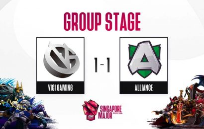 Dota 2: Singapore Major Group Stage; Day 3, Stream A