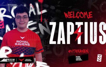 CoD: Zaptius Joins London Royal Ravens' Starting Roster