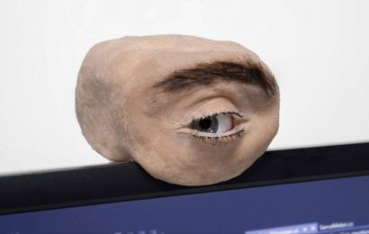 Eerie Webcam Looks Like A Realistic Human Eye, And Actually Blinks