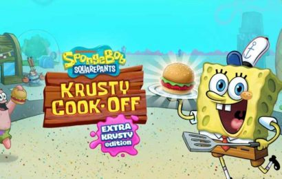 Free Mobile Game SpongeBob: Krusty Cook-Off Gets A $30 Switch Port