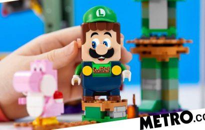 Lego Luigi gets his own Starter Course set for Lego Super Mario