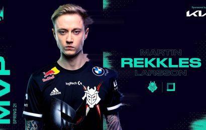 LoL: Rekkles Named 2021 LEC Spring Split MVP