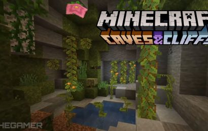 Minecraft Caves And Cliffs Update Split Into Two Parts, World Generation Delayed To Holiday 2021