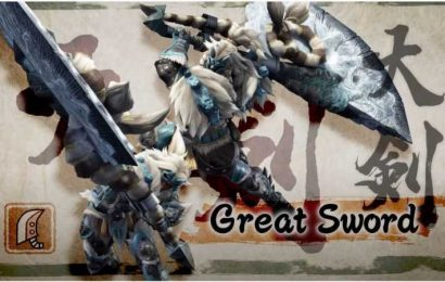 Monster Hunter Rise: Greatsword Weapon Guide
