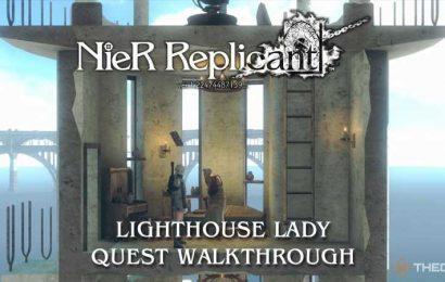 Nier Replicant: Lighthouse Lady Quest Walkthrough