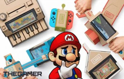Nintendo Seems To Be Ending The Era Of Labo As Site Goes Dark
