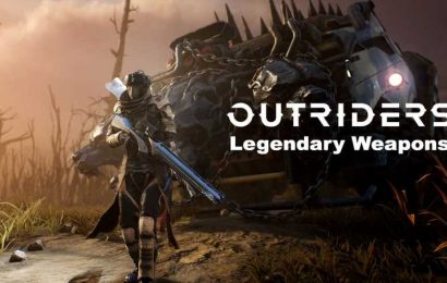 Outriders: List Of All Legendary Weapons In The Game