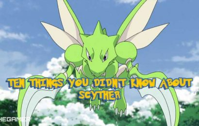 Pokemon: 10 Things You Didn't Know About Scyther