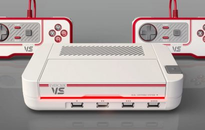 Retro Game Console Evercade VS Coming Later This Year