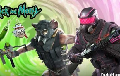 Rick and Morty cross over with Rainbow Six Siege, for some reason
