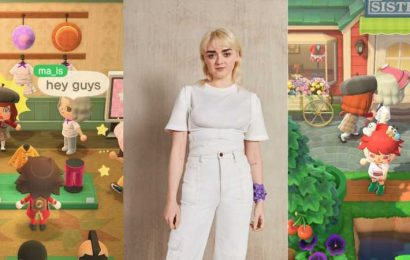 Touring H&M's Animal Crossing Island With Game Of Thrones' Maisie Williams