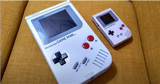 YouTuber Builds Giant Game Boy Called Game Man