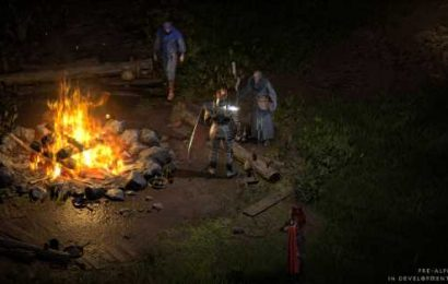 Diablo 2: Resurrected first playable alpha test coming this weekend