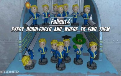 Fallout 4: Every Bobblehead And Where To Find Them