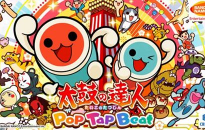 Taiko no Tatsujin: Pop Tap Beat Out Now On Apple Arcade