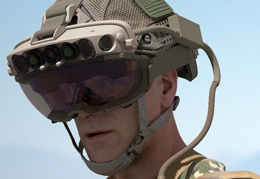 US Army Orders Up To 120,000 HoloLens AR Headsets