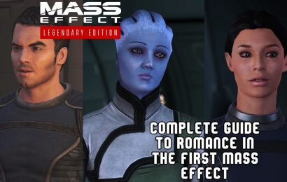 A Complete Guide To Romance In The First Mass Effect Game