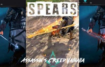 Assassin's Creed Valhalla: A Guide To All Of The Best Spears