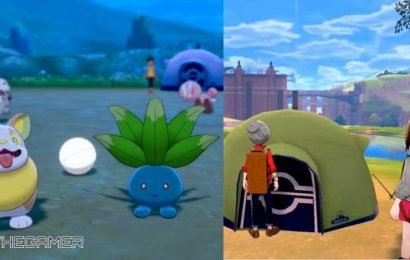 Camping In Pokemon Sword And Shield Didn't Prepare Me For Camping IRL