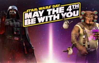 Celebrating Star Wars Day…VR Style