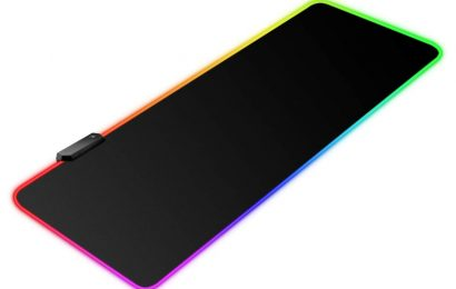 Cover your desk with this massive, customizable RGB mouse pad for $11