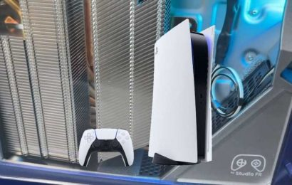 Custom PS5 Gives You A Peek Inside The Console