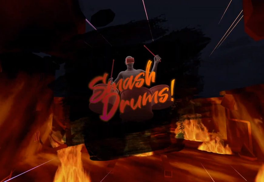 Drum-based Rhythm Game 'Smash Drums' to Release on Quest Next Month – Road to VR