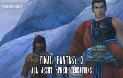 Final Fantasy 10: All Jecht Sphere Locations