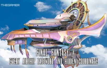Final Fantasy 10: Every Airship Password And Hidden Coordinate