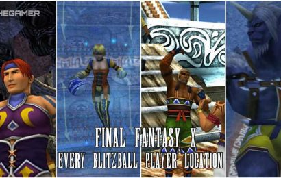 Final Fantasy 10: Every Blitzball Player Location
