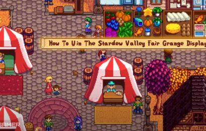 How To Win The Stardew Valley Fair Grange Display Contest