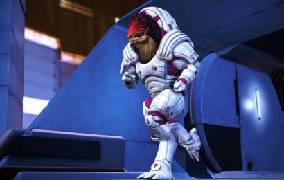 I Wish Wrex Wore His Bubblegum Armour All The Time In Mass Effect