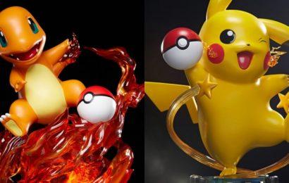 "Incredible Pokémon Pikachu And Charmander ""Life-Sized"" Statues Revealed"