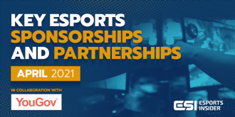 Key esports sponsorships and partnerships, April 2021 – Esports Insider