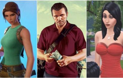 Lara Croft, GTA's Michael, And Bella From The Sims Are Raking It In According To Study