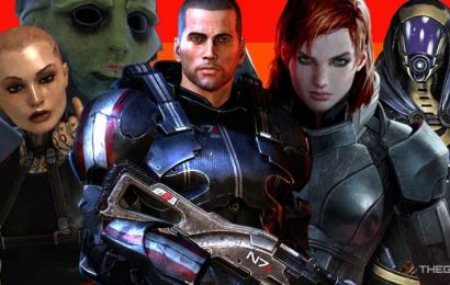 Mass Effect Modders Are Using Official Audio To Restore Gay Romances For Jack, Thane, Tali, And More