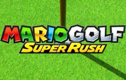 New Mario Golf: Super Rush Trailer Reveals Full Character Roster